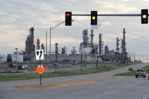 Phillips66 refinery in Ponca City. Photo by Elizabeth Hoover