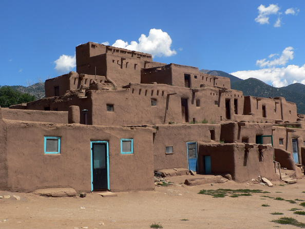 Red willow farm taos pueblo nm from garden warriors to for Pueblo home builders