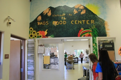 Taos Food Center, 5,000 square foot commercial kitchen. Photo by Angelo Baca