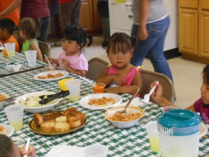Cochiti language food program