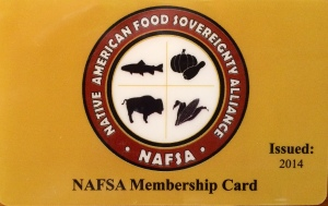 My NAFSA membership card. Photo by Elizabeth Hoover