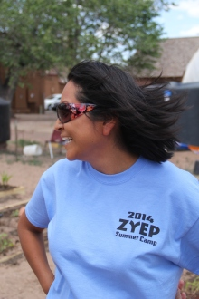 ZYEP coordinator Zowie Banteah-Yuselew. Photo by Angelo Baca