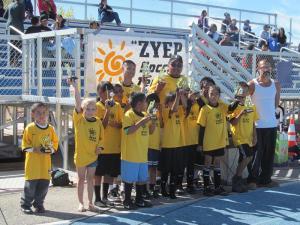 ZYEP soccer team. Photo courtesy of ZYEP website