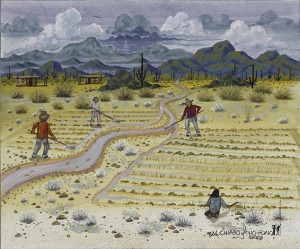 """Farming"" by Michael Chiago"