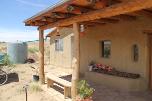Lilian and Jacobo's home was built using a similar design. Photo by Angelo Baca