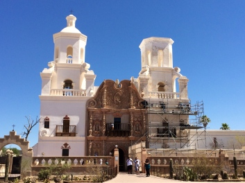 Mission San Xavier del Bac. Photo by Elizabeth Hoover