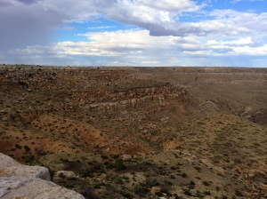 View from Second Mesa. Photo by Elizabeth Hoover