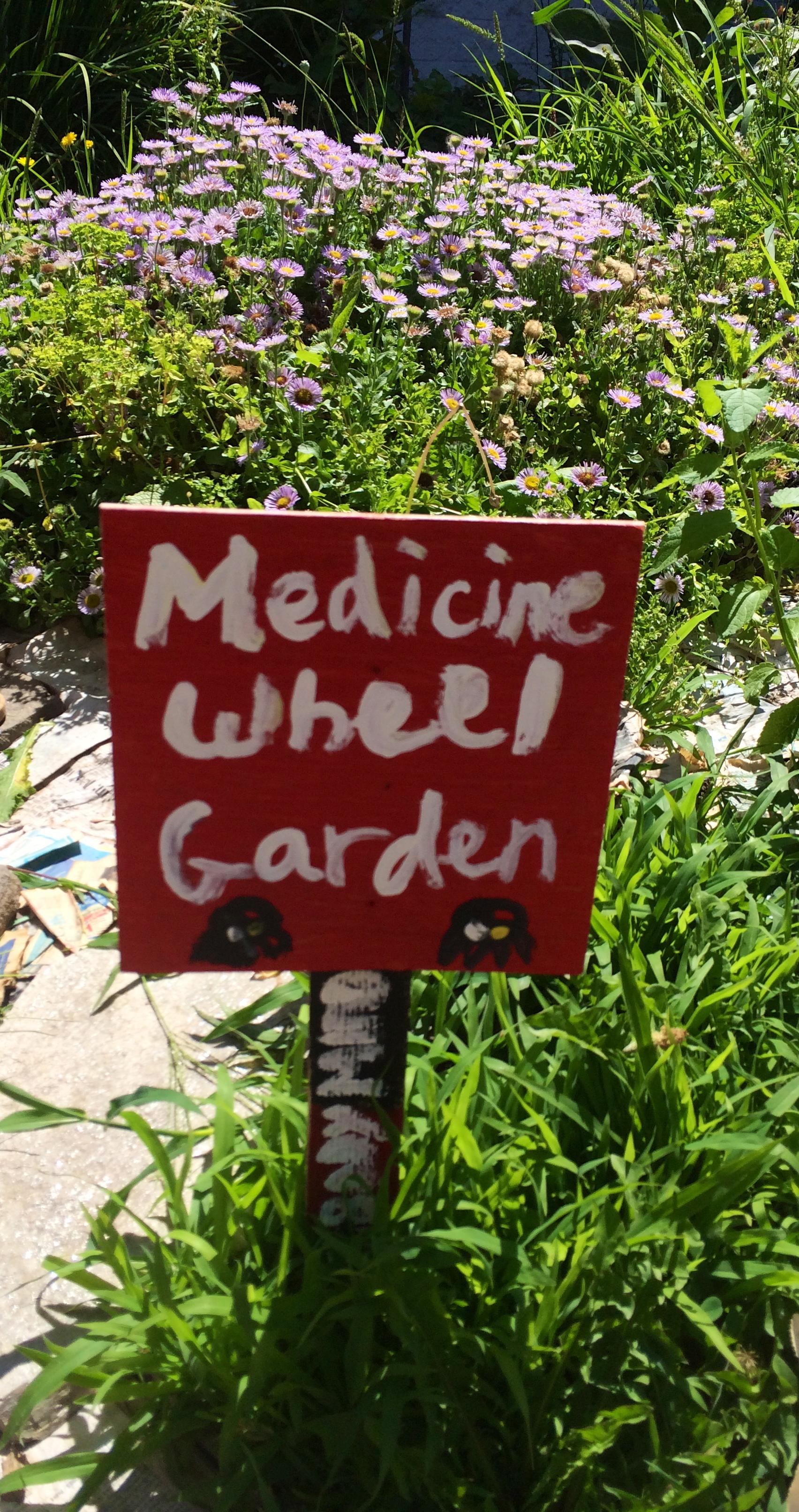 Native America Youth and Family Center NAYA Indigenous Gardens – Medicine Wheel Garden Plans