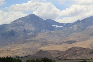 Sierra Nevadas. Photo by Elizabeth Hoover