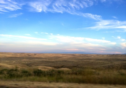 Rolling hills of the Cheyenne River Sioux Indian Reservation. Photo by Elizabeth Hoover