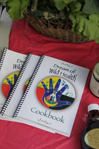 DOWH cookbook. For information on how to get one, go to http://dreamofwildhealth.org/cookbook.html. Photo by Angelo Baca