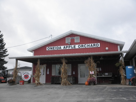 Oneida Orchard. Photo by Elizabeth Hoover (October 2013)