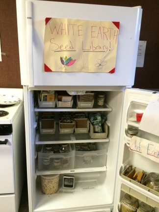 WELRP seed library. Photo by Elizabeth Hoover
