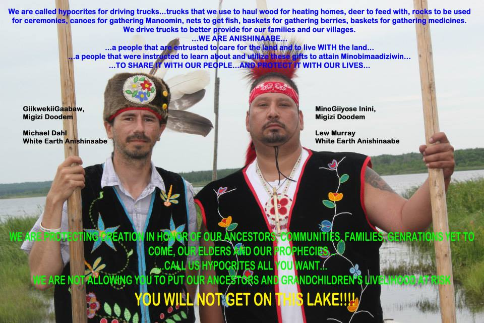 mikesmeme honor the earth, pipeline ride, saving minnesota's water and wild