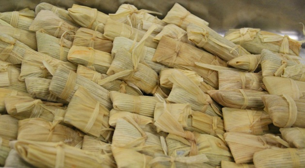 Rabbit tamales. Photo by Elizabeth Hoover