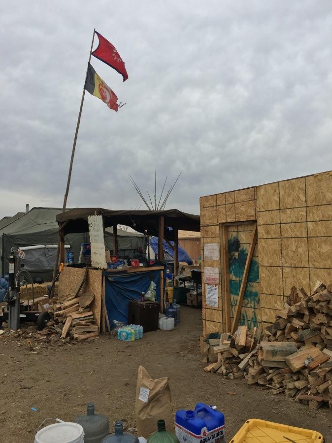 Oglala (Wounded Knee) kitchen