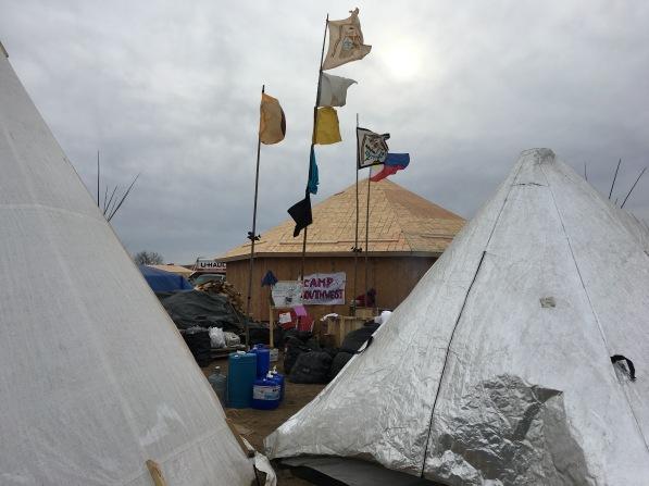 Southwest camp kitchen
