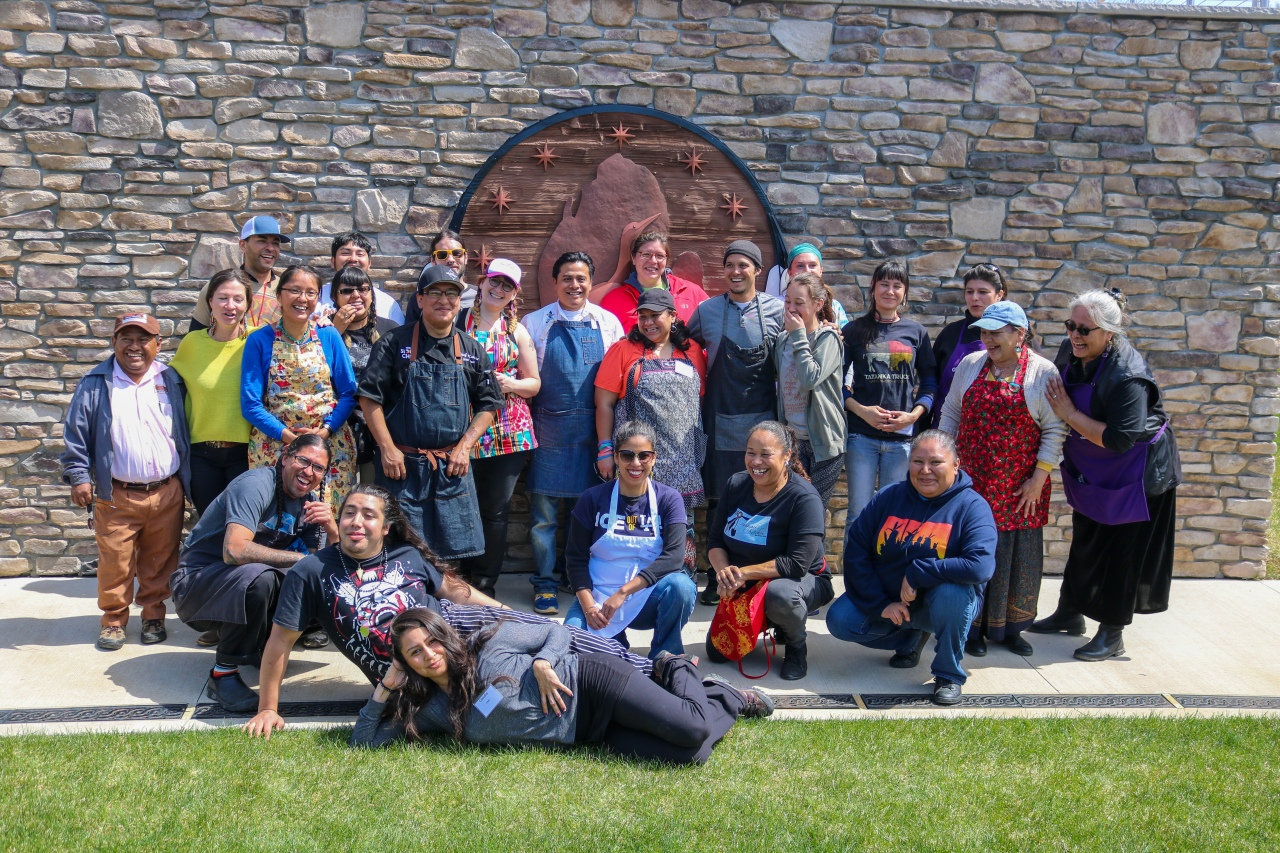 Great Lakes Intertribal Food  Summit at Jijak Foundation, Gun Lake Potawatomi, April 21-24 2016 and April 19-23 2017