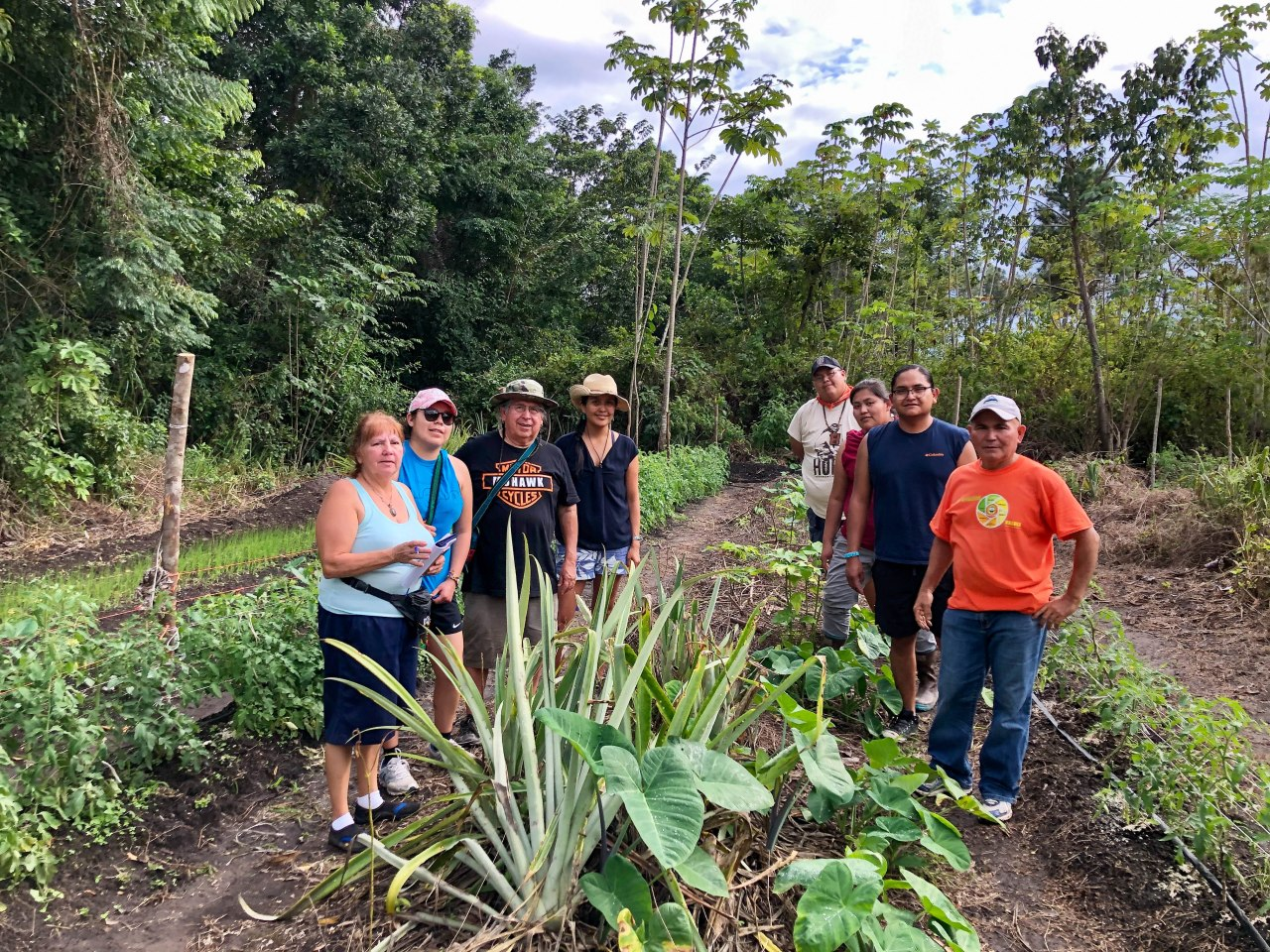 Traditional Native American Farmers Association Trip to Belize Part II: Farm Field Trips!